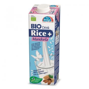 Lapte din orez cu migdale bio 1 ml THE BRIDGE