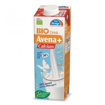 Lapte din ovaz cu calciu bio 1 ml THE BRIDGE