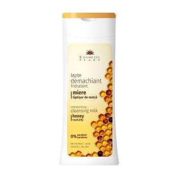 Lapte demachiant hidratant cu miere si laptisor de matca 200 ml COSMETIC PLANT
