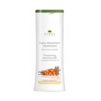 Lapte demachiant vitaminizat cu ulei de catina si masline 200 ml COSMETIC PLANT