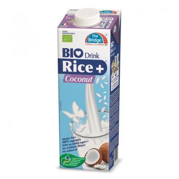 Lapte din orez cu cocos bio 1 ml THE BRIDGE