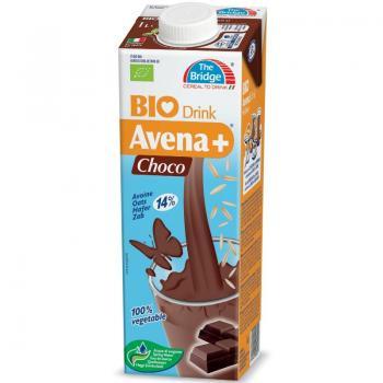 Lapte din ovaz cu ciocolata bio 1 ml THE BRIDGE
