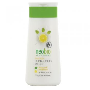 Lapte purifiant cu menta si lamaie 150 ml NEOBIO