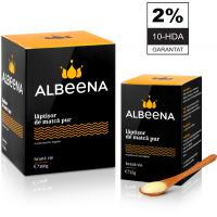 Laptisor de matca pur crud 2% 10-HDA 125gr ALBEENA