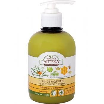 Laptisor intim emolient cu extracte de catina si propolis 370 ml GREEN PHARMACY