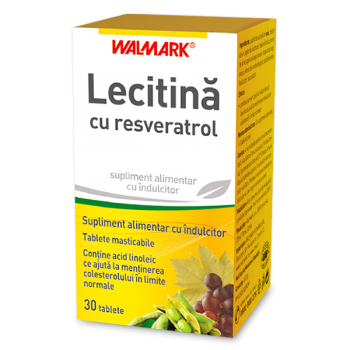 Lecitina cu resveratrol 30 tbl WALMARK