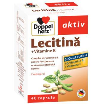 Lecitina +vitamina b +vitamina e 40 cps DOPPEL HERZ