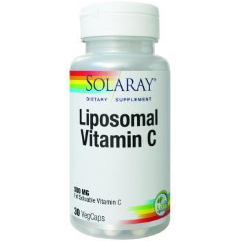 Liposomal vitamin c 500 mg 30 cps SOLARAY