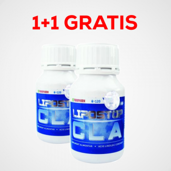 Lipostop cla 120cps PROMO 1+1 GRATIS 2 gr PARAPHARM