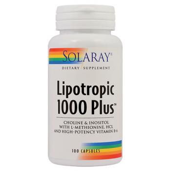 Lipotropic 1000 plus 100 cps SOLARAY