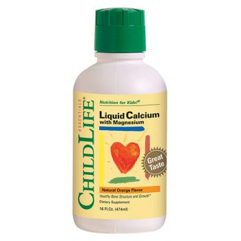 Liquid calcium with magnesium 474 ml CHILDLIFE ESSENTIALS