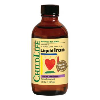 Liquid iron 118.5 ml CHILDLIFE ESSENTIALS