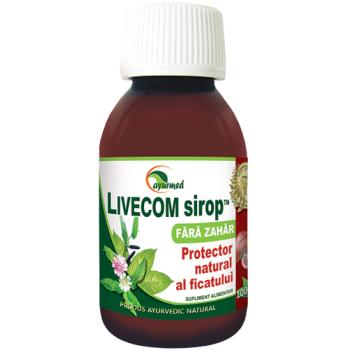 Livecom, sirop fara zahar 100 ml AYURMED