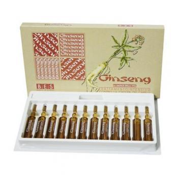 Lotiune ginseng pentru par fiole 120 ml BES