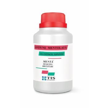 Lotiune mentolata cu extracte naturale 100 ml TIS