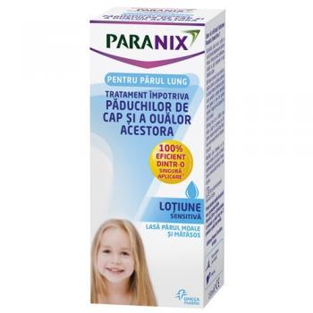 Lotiune sensitiva, tratament impotriva paduchilor 150 ml PARANIX