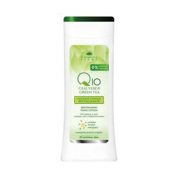 Lotiune tonica revitalizanta q10+ceai verde si complex mineral energizant 200 ml COSMETIC PLANT