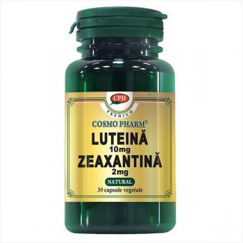 Luteina 10mg zeaxantina 2mg  30 cps COSMOPHARM