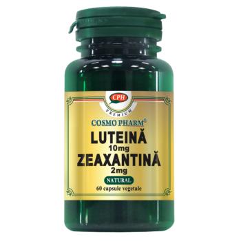 Luteina 10mg zeaxantina 2mg  60 cps COSMOPHARM