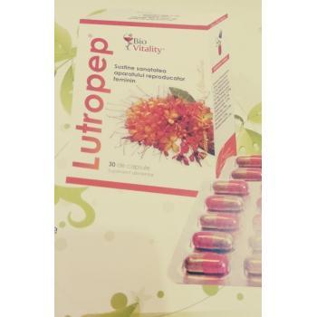 Lutropep tonic uterin, reglator hormonal feminin 30 cps BIO VITALITY