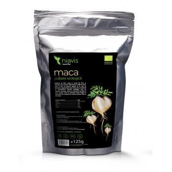Maca pulbere ecologica (bio) 125 gr NIAVIS
