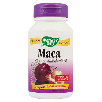 Maca standardized 60 cps NATURES WAY