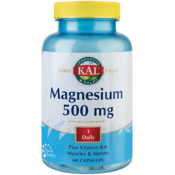 Magnesium 500 mg 60 cps KAL