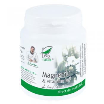 Magneziu & vitamina b6 150 cpr PRO NATURA