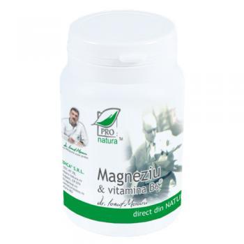 Magneziu & vitamina b6 60 cpr PRO NATURA