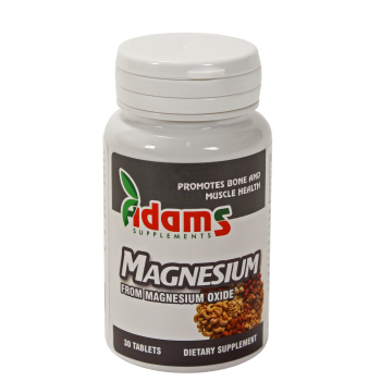 Magneziu 375 mg 30 tbl ADAMS SUPPLEMENTS