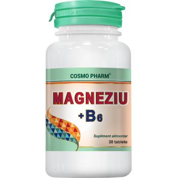 Magneziu+ b6 30 tbl COSMOPHARM