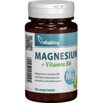 Magneziu cu b6 30 cps VITAKING