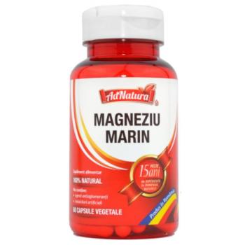 Magneziu marin 60 cps ADNATURA