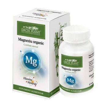 Magneziu organic 60 cpr VITAMINE SI MINERALE