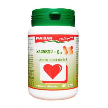 Magneziu +q10 b081 40 cps FAVISAN