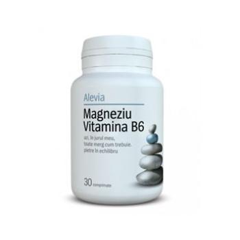 Magneziu vitamina b6 30 cpr ALEVIA
