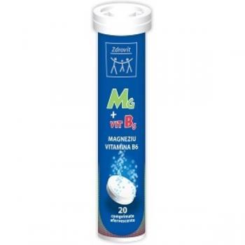 Magneziu + vitamina b6 20 cpr ZDROVIT