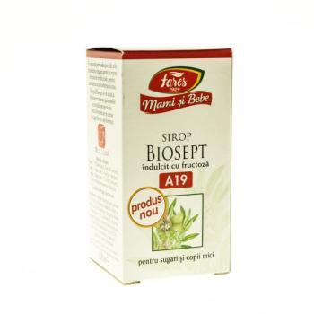 Sirop Biosept cu fructoza pentru sugari si copii mici a19 100 ml MAMI SI BEBE