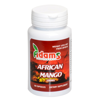 Mango african 60 cps ADAMS SUPPLEMENTS