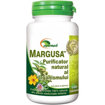 Margusa, purificator natural al organismului 100 tbl AYURMED