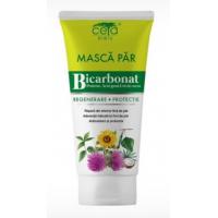 Masca de par pentru regenerare si protectie cu bicarbonat