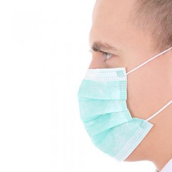 Masca medicala faciala (chirurgicala) 3 pliuri ffp1 SET 50 gr ABOUT LIFE