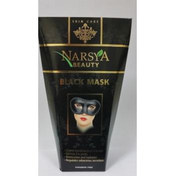 Masca peel-off purifianta black pentru puncte negre si pori dilatati cu carbune activ 100 gr NARSYA