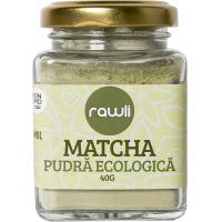 Matcha pudra ecologica 40gr RAWLI