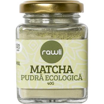 Matcha pudra ecologica 40 gr RAWLI