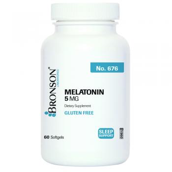 Melatonin 5 mg 60 cps BRONSON