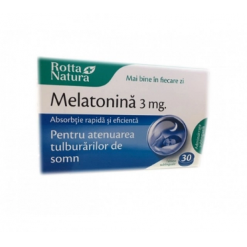Melatonina sublinguala 3mg 30 cpr ROTTA NATURA