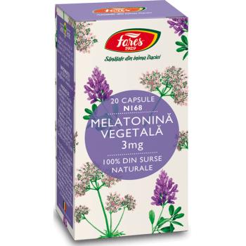 Melatonina vegetala  20 cps FARES