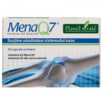 Mena q7 - vitamina k2 naturala 30 cps PLANTEXTRAKT