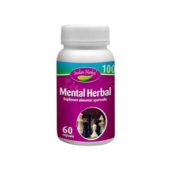 Mental herbal 60 cps INDIAN HERBAL